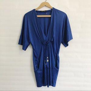 Roberto Cavalli Jersey Silk Tunic